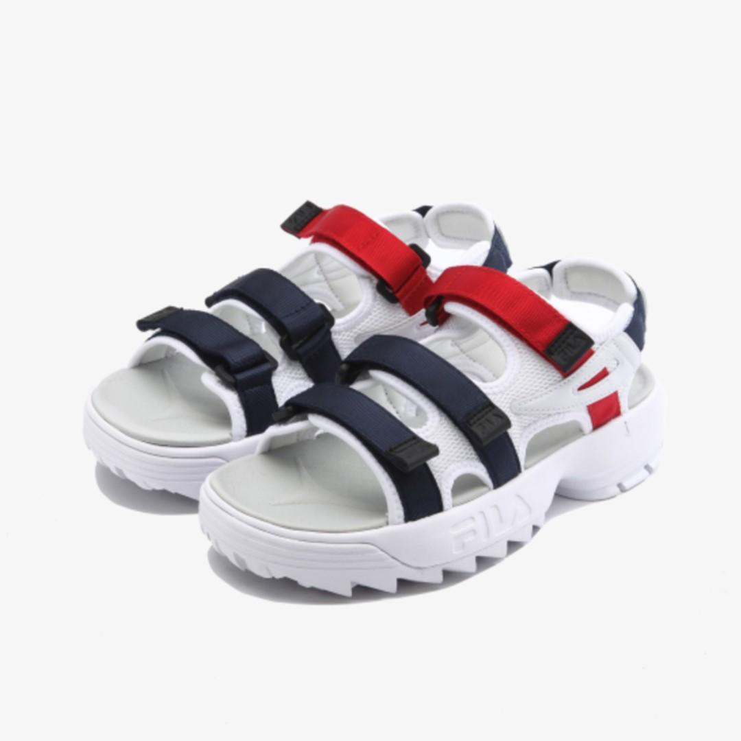 7a7beb4e106b  FILA  DISRUPTOR 2 Sandal 2 colors (Novelship Korea!)
