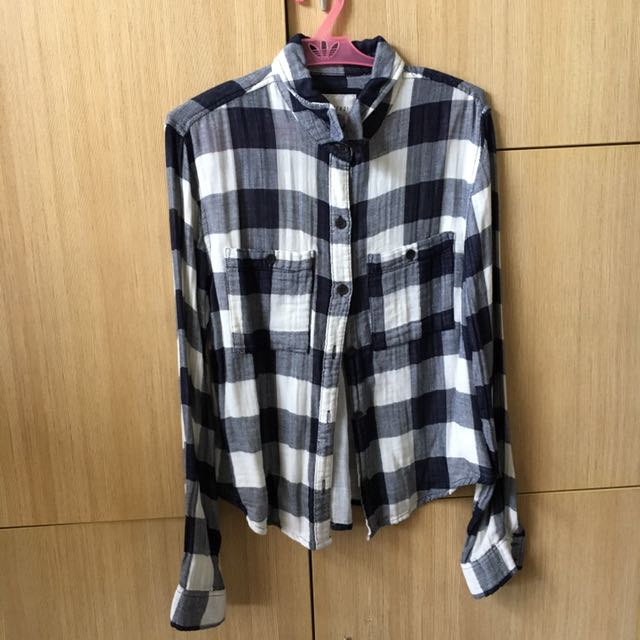 Forever 21 Plaid Top