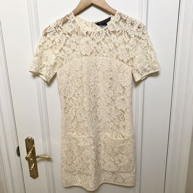 French Connection Lace Mini Dress (Small)