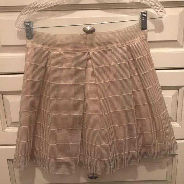 Golden Skirt From Honey