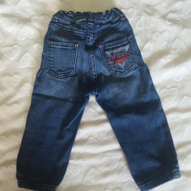 guess jeans toddler 12 months unisex