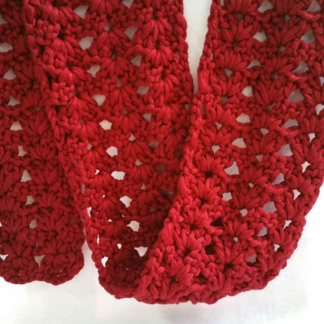 Handmade Crochet Female Scarf Women S Fashion Clothes Others On