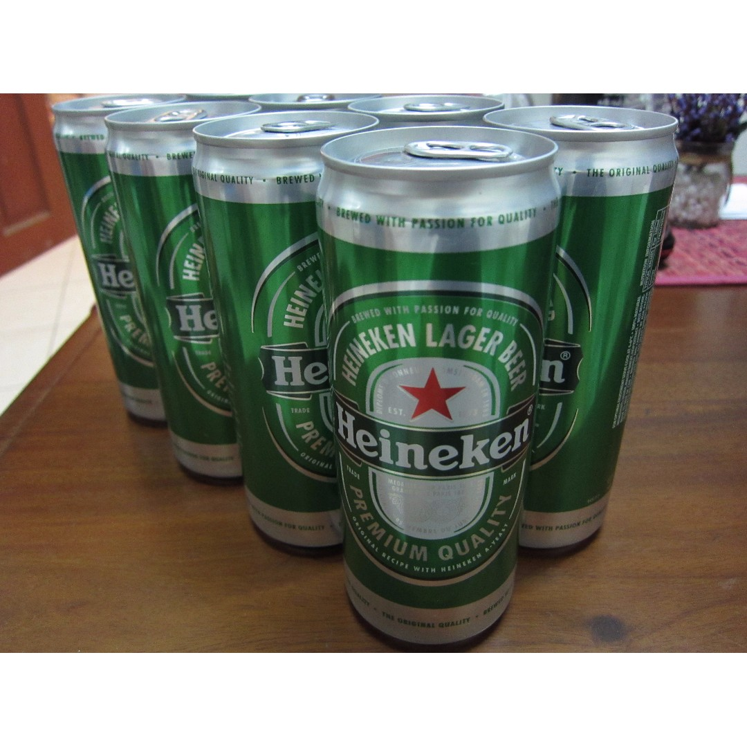 Heineken 8 cans to clear cheaply