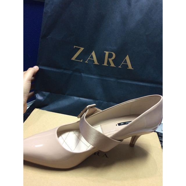 High Heel Court Shoes With Buckle - ZARA