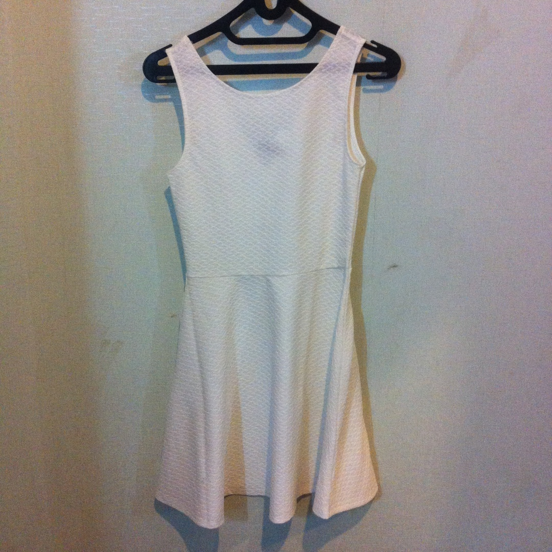 H&M Casual White Dress