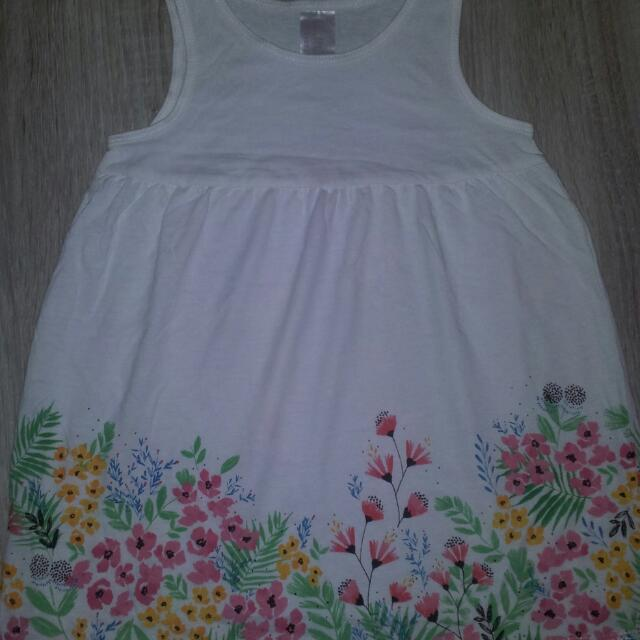 H&M Dress For 1-2 Y.O