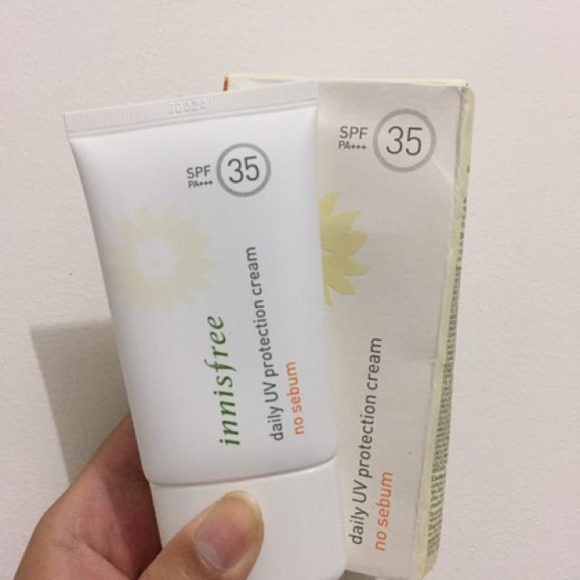 Innisfree daily uv protection crem