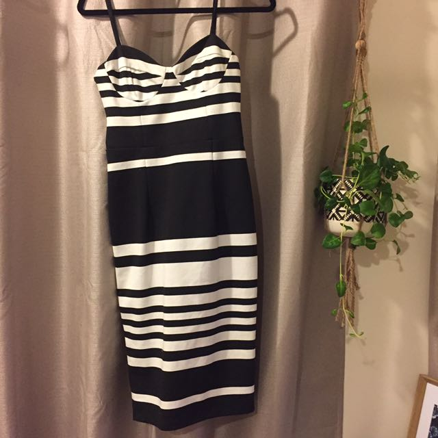 Kookai Stripe Dress 38