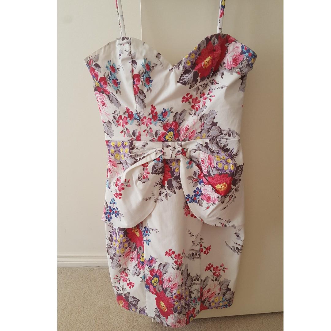 Lipsy London Floral dress