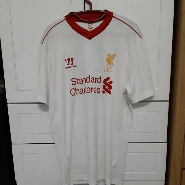 competitive price dcfb2 d4026 Liverpool Away Kit 2013-14 Suarez 7
