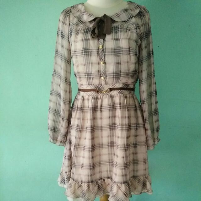 Lodispotto Brown Dress