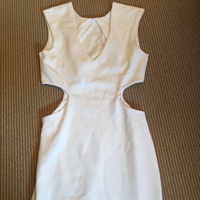 Low Neck Cut Out Asos Dress