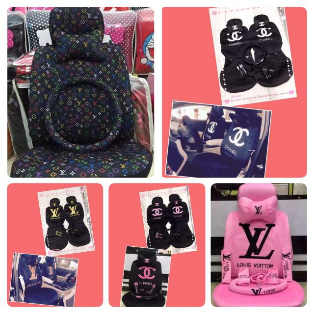 Lv Chanel Gucci Car Seat Cover Car Parts Accessories On Carousell