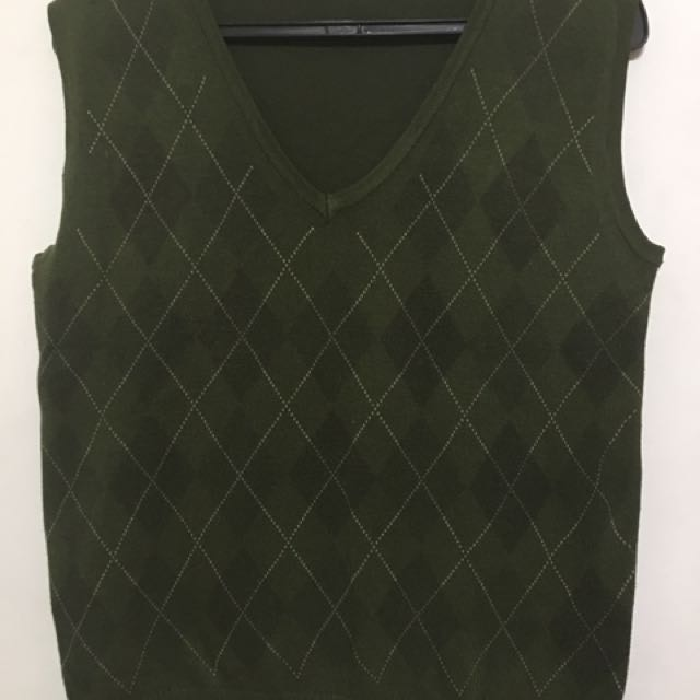 Men's Argyle Vest