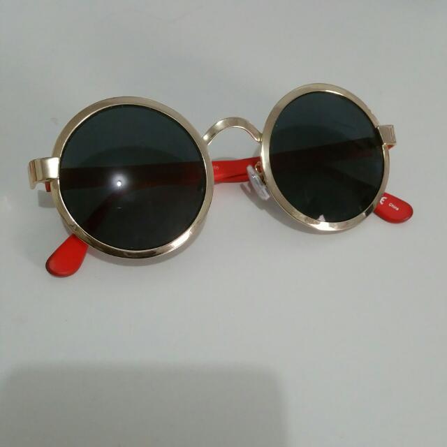 Mink Pink Round Sun Glasses
