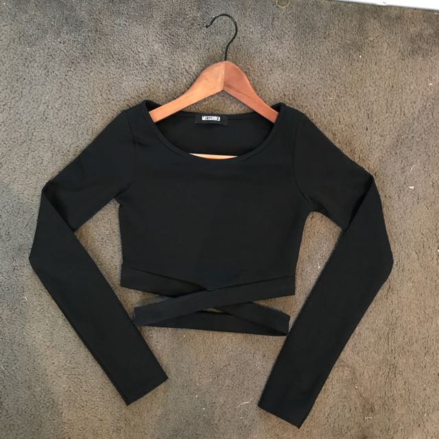 Missguided Wrap Top