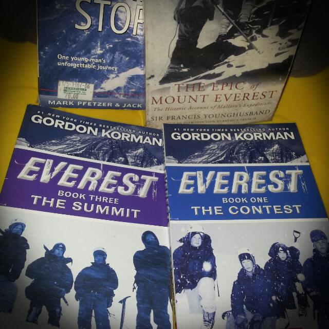 Bundle: Mt. Everest Books
