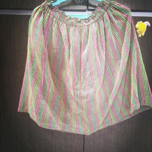 Neon Lined Skirt