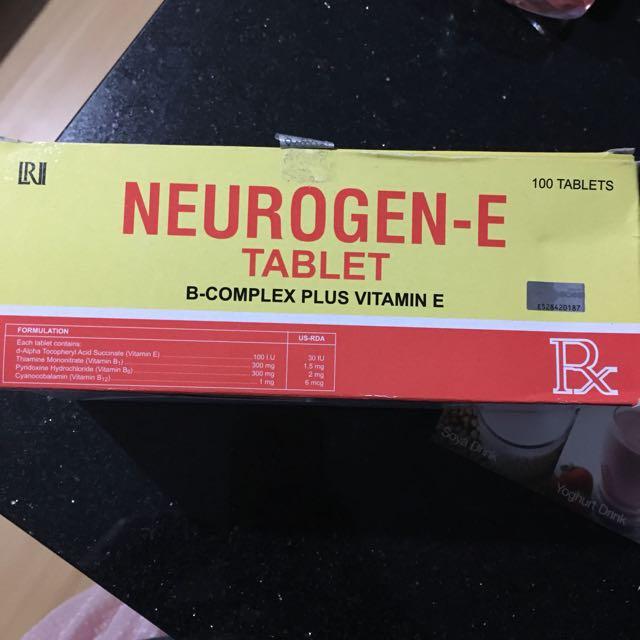 Neurogen -E VitB Conplex + Vit E