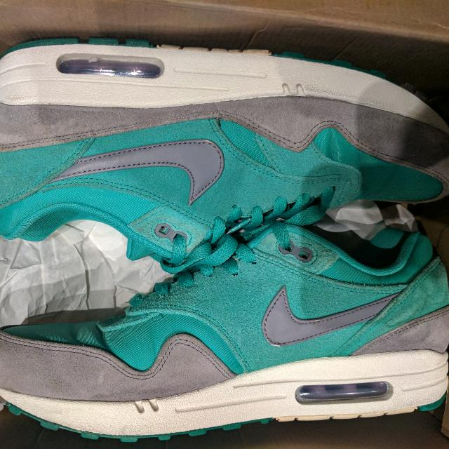 "Nike Air Max 1 Premium ""Green Bandit"" US 10.5 $80"