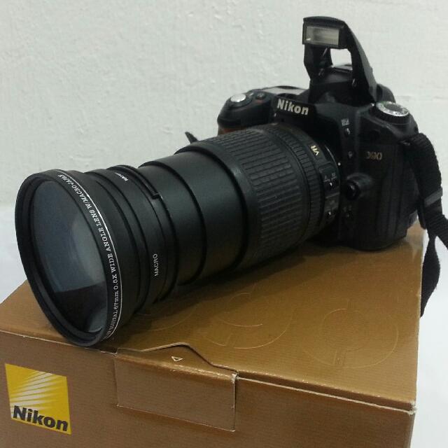 nikon d90 with af s nikkor 18 105mm vitagon dslr hd pro series mc rh my carousell com