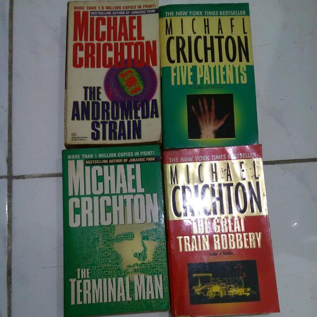 Novel Michael Chrichton