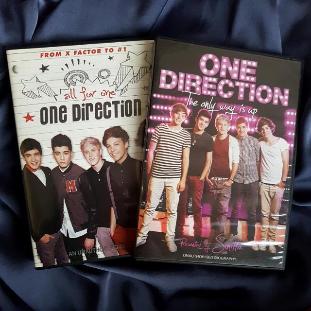 ONE DIRECTION DVDs (set)