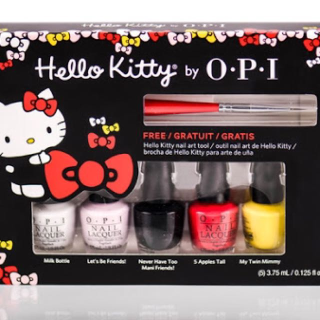 OPI Hello Kitty Set