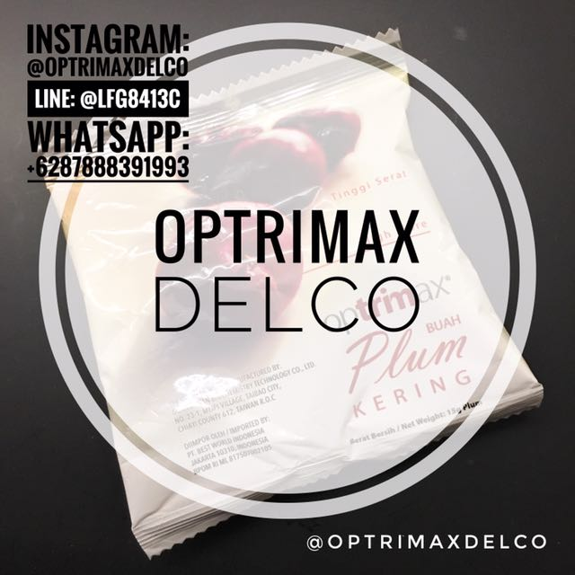 Optrimax Plum, Jelly & 5 Day Plan