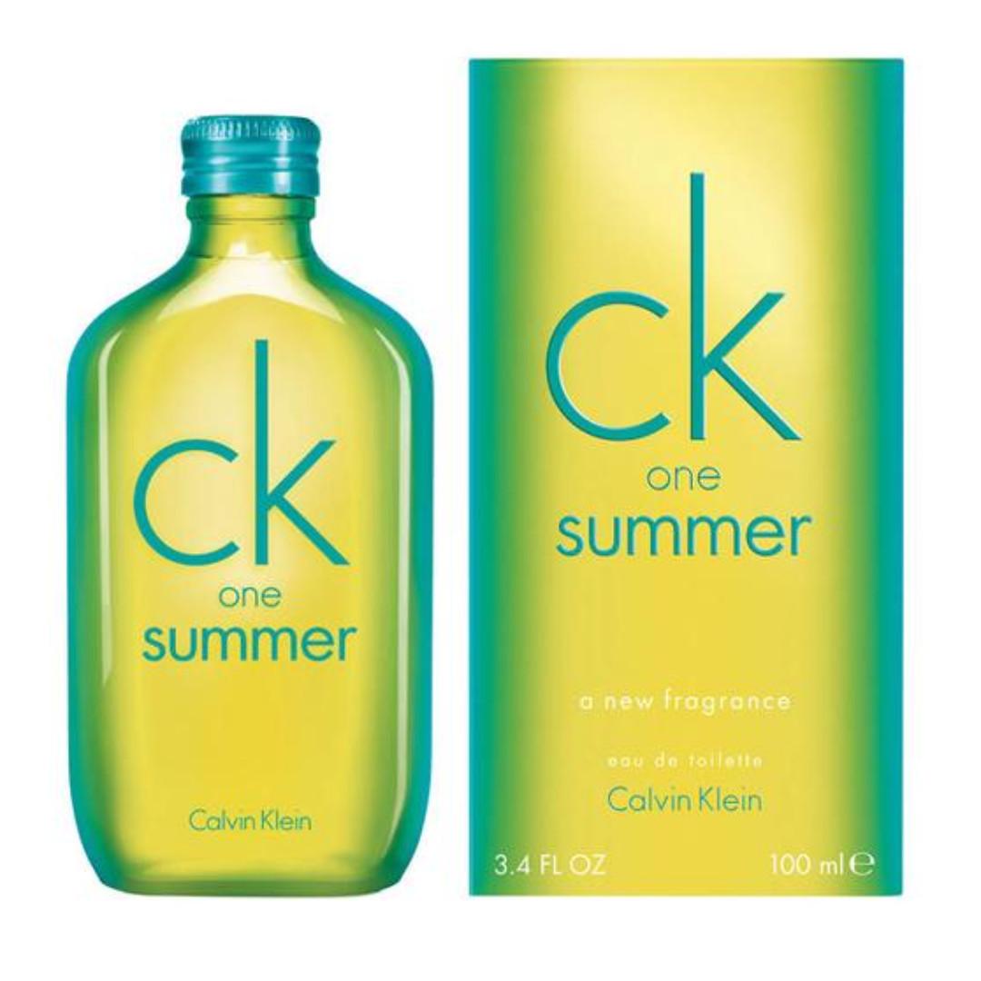 Parfum Ck One Summer Original Reject 100ml Include Sarung Beludru