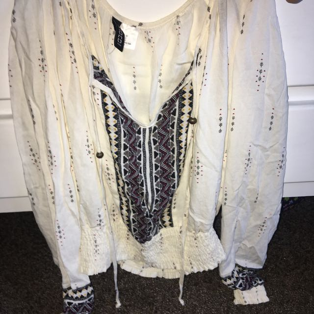 Patterned Long Sleeve H&M