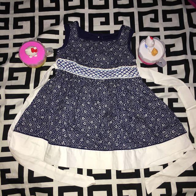 Periwinkle Baby Dress