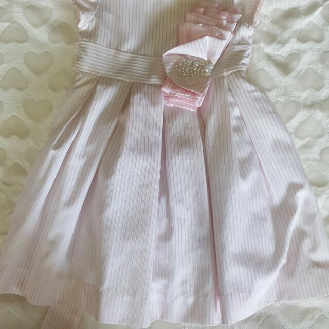 periwinkle pinks dress 1yr old