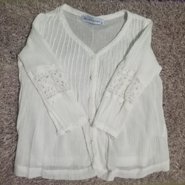 Gingersnaps Soft Button Down Top