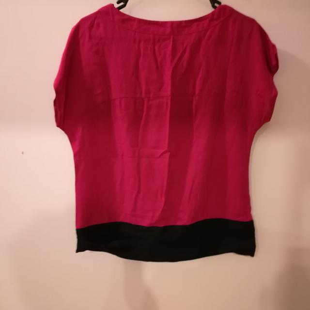 Pink And Black T Shirt
