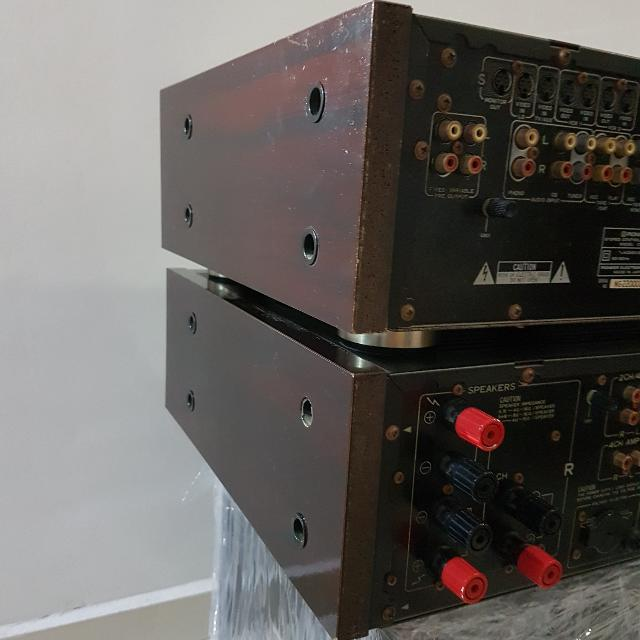 Pioneer C72 Preamp And M72 Power Amp , Electronics, Audio on