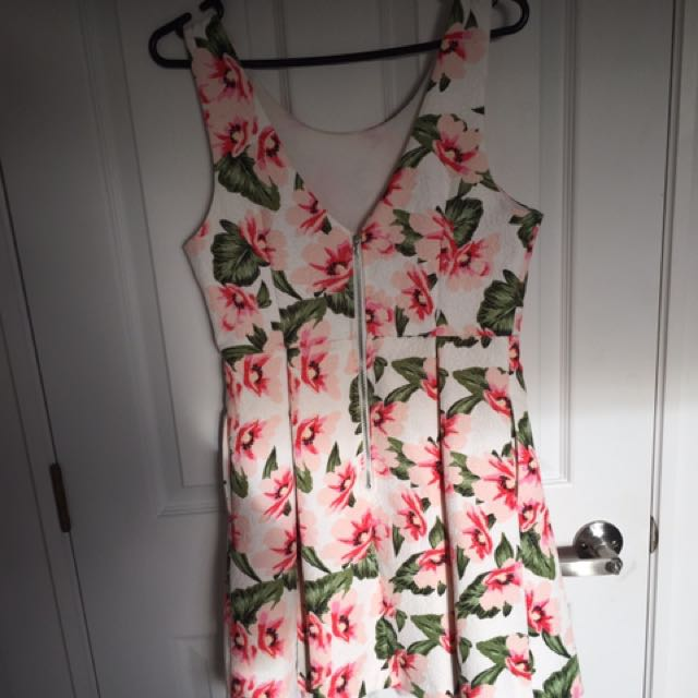 Pretty Flared Out Skater Dress