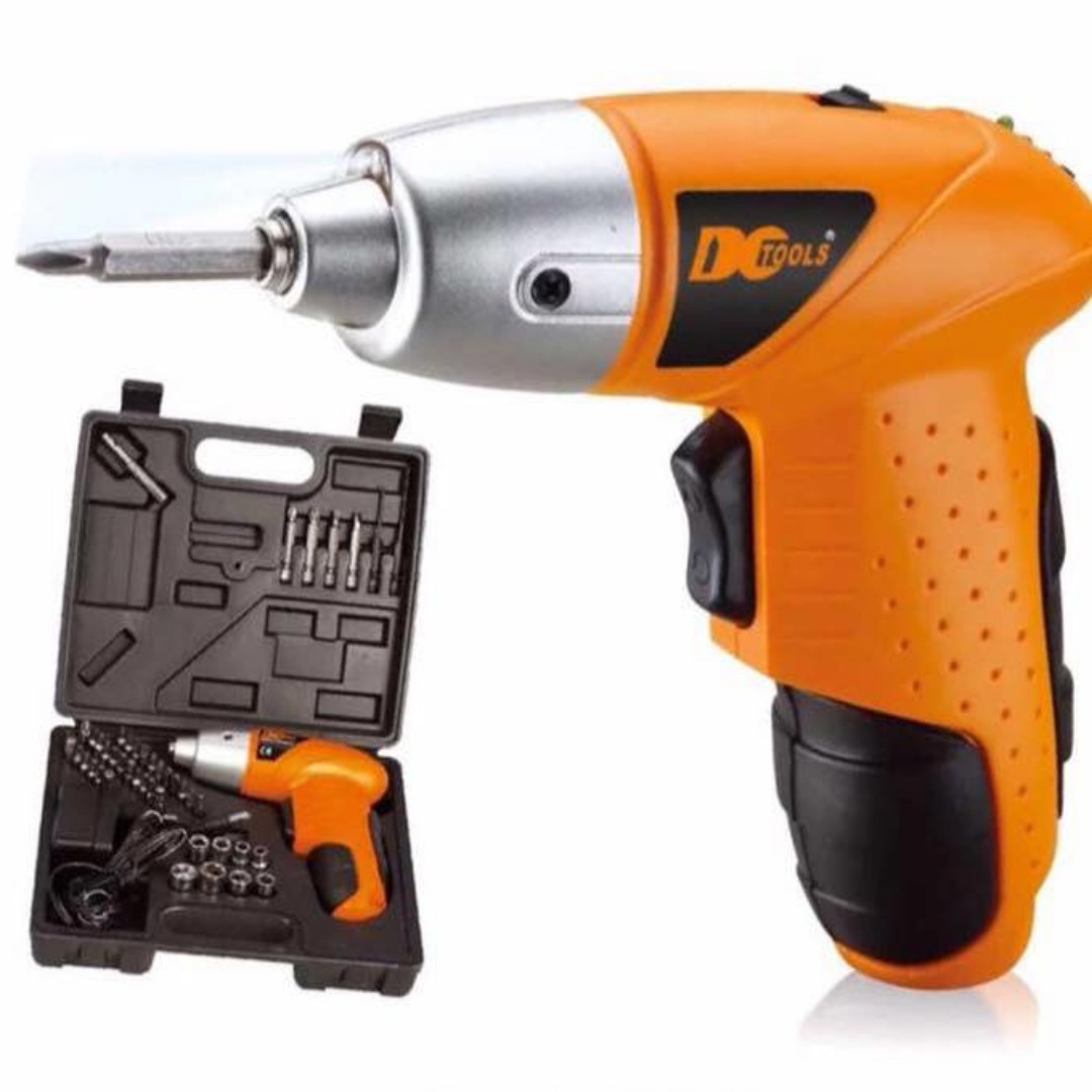 RECHARGEABLE DRILL SET