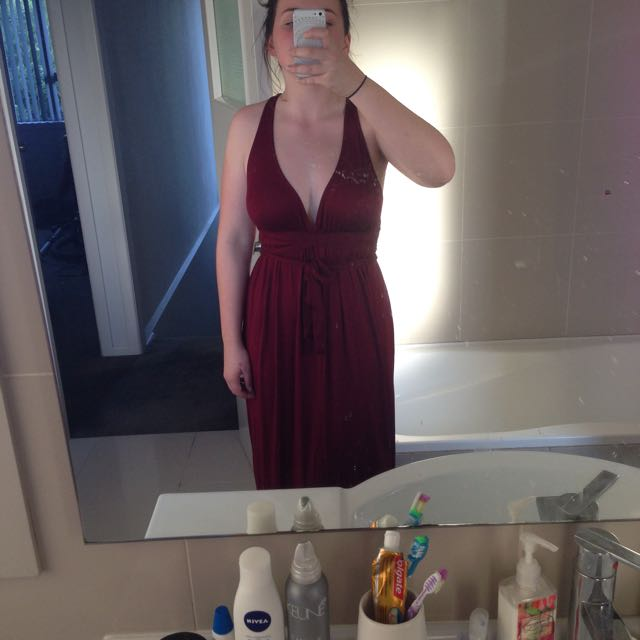 Reddish/maroon Urban Outfitters Dress