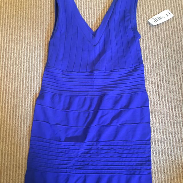 Royal Blue Short Bodycon Dress