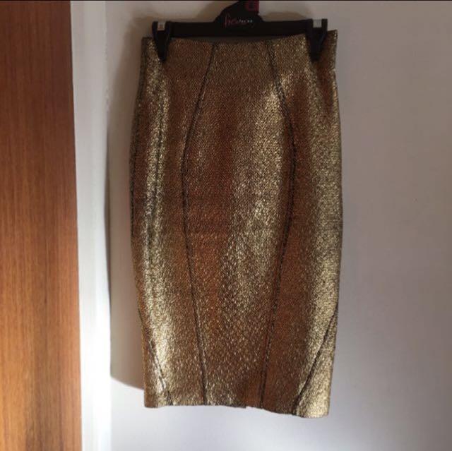 shieke gold shirt