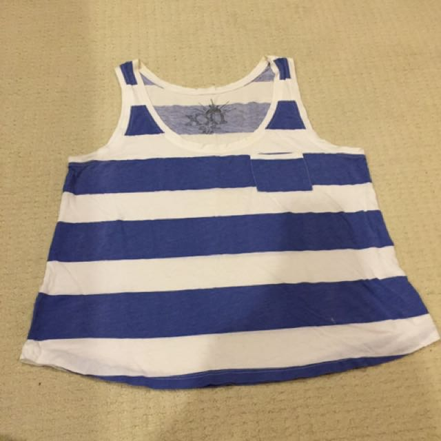 Size M - Forever21 Striped Tank