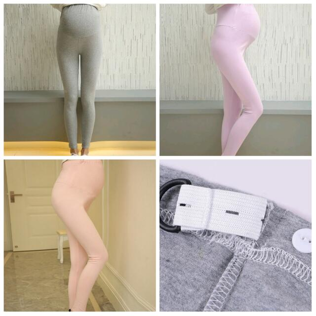 Spring Autumn Cotton Maternity Leggings Pants for pregnant women High Waist pregnancy leggings clothes maternity clothing