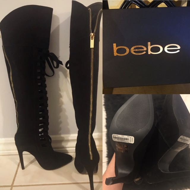 Suede Boots Size 5