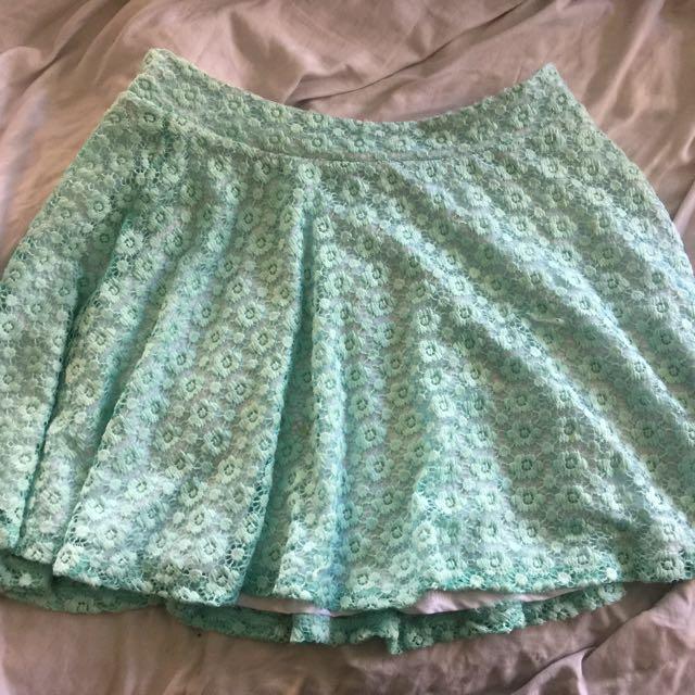 Supré Blue Skirt