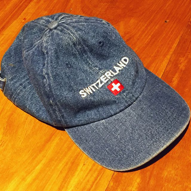 Switzerland Souvenir Cap
