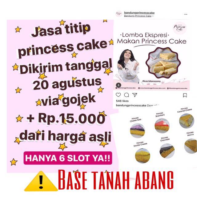 Syahrini Princess Cake!!
