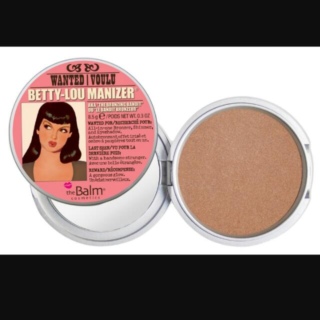 the balm Betty Bronzer 全新