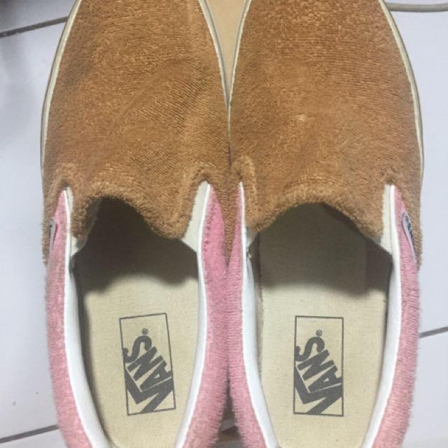 Vans Slip On Brown/Pink