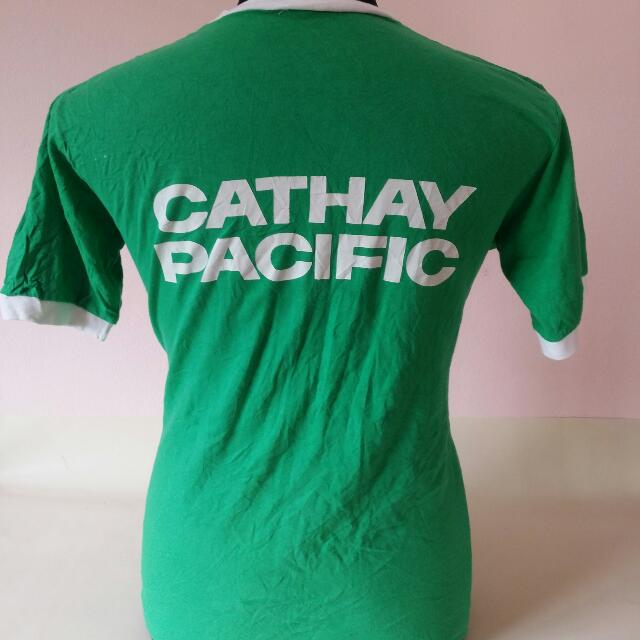 Vintage Cathay Pacific Ringer Shirt
